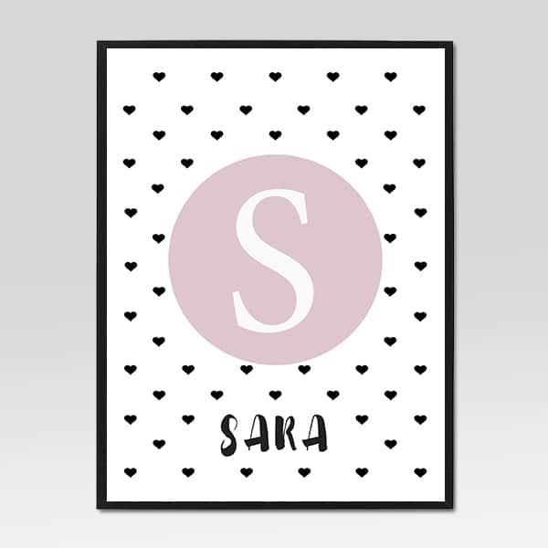 Slika za djeciju sobu - Sara